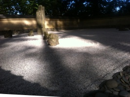 Rock garden at Portland Japanese Garden, a place for quiet contemplation and sensing inner peace